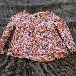 H&M flowy top with flower print.